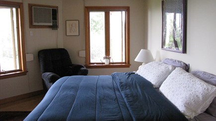 Wellfleet Cape Cod vacation rental - Master bedroom with queen bed and private bath