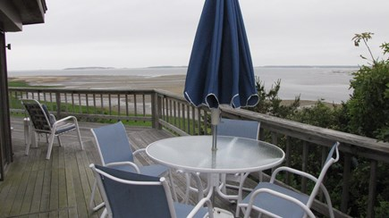 Wellfleet Cape Cod vacation rental - Breakfast, lunch or dinner on the deck