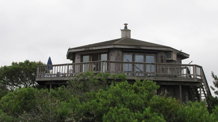 Wellfleet Cape Cod vacation rental - Casual outdoor living spaces plus awesome sunset views