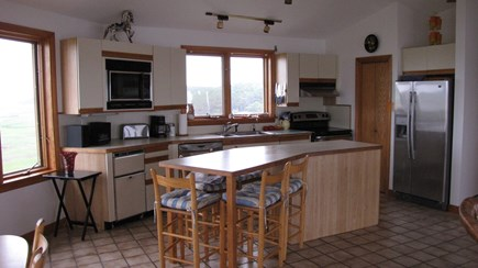 Wellfleet Cape Cod vacation rental - Fully equipped kitchen and casual seating
