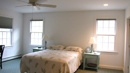 Truro Cape Cod vacation rental - Main level master bed (queen bed) with private bath