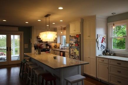 Truro Cape Cod vacation rental - Kitchen Opens to Screen Porch