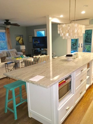Truro Cape Cod vacation rental - Kitchen Island with Sitting for All