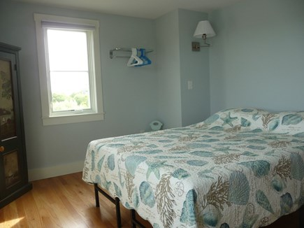 Truro Cape Cod vacation rental - Main level bedroom with queen bed