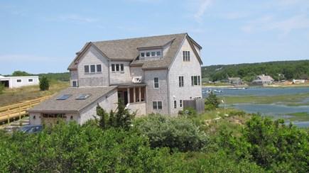Truro Cape Cod vacation rental - On the hill overlooking picturesque Pamet Harbor