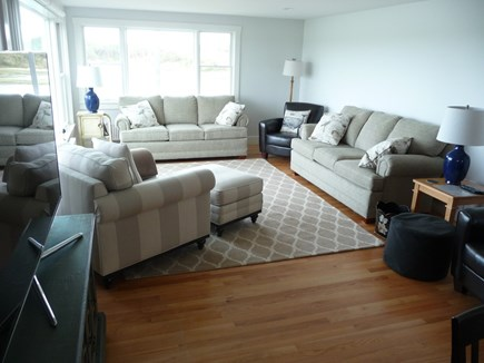 Truro Cape Cod vacation rental - Relax in the living room area of the Great Room