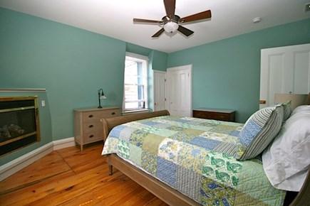 Provincetown Cape Cod vacation rental - Second floor bedroom 2 - queen bed with en suite bath