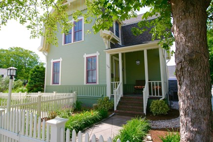 Provincetown Cape Cod vacation rental - Front of home - porch with partial water views