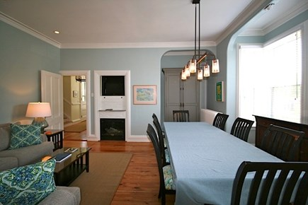 Provincetown Cape Cod vacation rental - Living/dining room