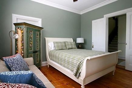 Provincetown Cape Cod vacation rental - First floor Bedroom 1 - queen bed with en suite bath