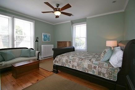 Provincetown Cape Cod vacation rental - Second floor bedroom 1 - queen bed with en suite bath