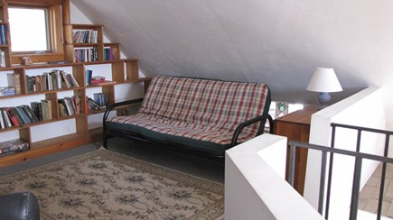 Truro Cape Cod vacation rental - Partial view of loft with double futon