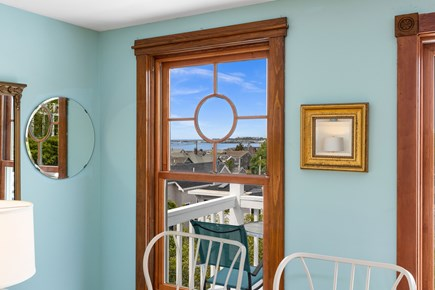 Provincetown Cape Cod vacation rental - Porthole view of Provincetown Harbor