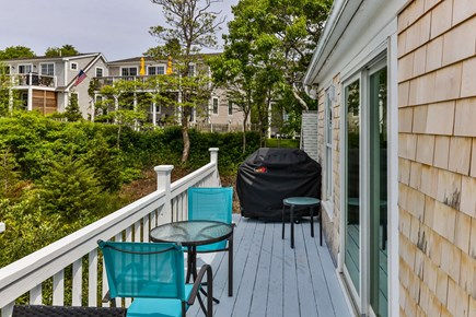 Provincetown Cape Cod vacation rental - 2nd story deck looking away from the water