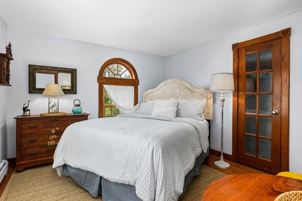 Provincetown Cape Cod vacation rental - First Floor Bedroom with Queen Sized Bed