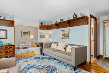 Provincetown Cape Cod vacation rental - First Floor Living Room