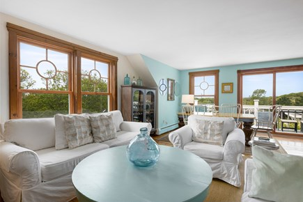 Provincetown Cape Cod vacation rental - Second Floor Living Area