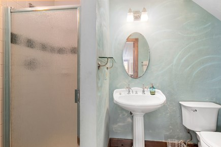 Provincetown Cape Cod vacation rental - 2nd Story Bathroom