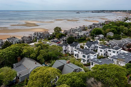 Provincetown Cape Cod vacation rental - Aerial view of Harbor and Bay