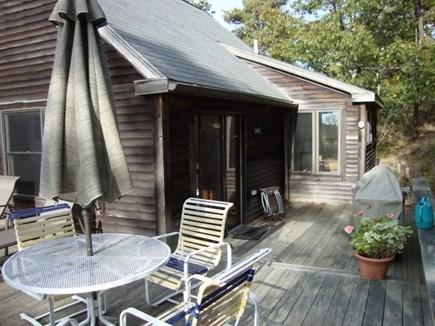 Truro Cape Cod vacation rental - Outdoor dining