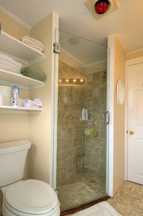 Truro, Beach Point Cape Cod vacation rental - Updated bath offers a shower