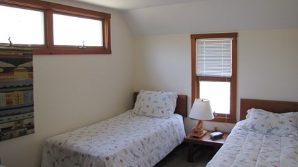 Truro Cape Cod vacation rental - Second level bedroom with twin beds