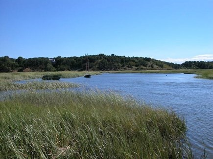 Truro Cape Cod vacation rental - The Pamet River landing just down from the house, great kayaking!