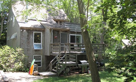 Truro Cape Cod vacation rental - Front of Home with deck