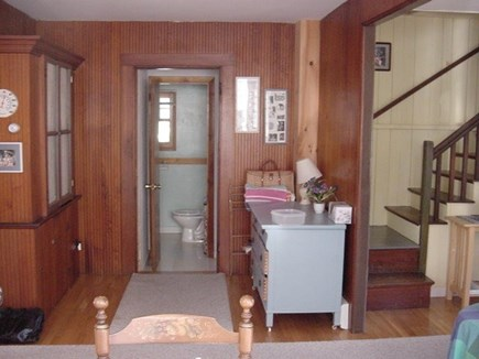 Falmouth Cape Cod vacation rental - View from Dining Room across middle of 1st Floor