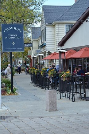 Falmouth Cape Cod vacation rental - Downtown Falmouth is charming; note Visitors Center!
