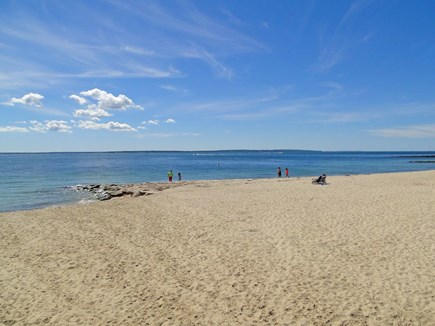 Falmouth Cape Cod vacation rental - Beautiful Falmouth Heights Beach is just a block away