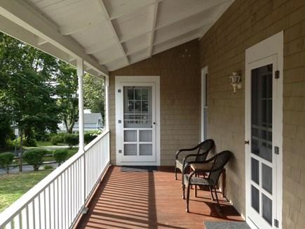 Falmouth Cape Cod vacation rental - Front Porch Side Entrances