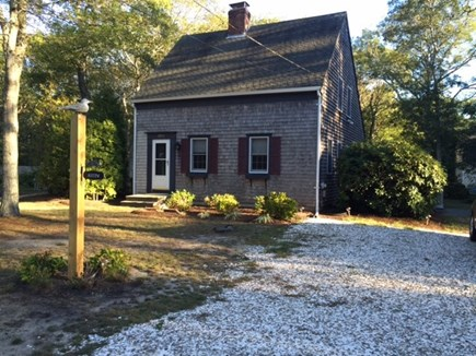 Eastham Cape Cod vacation rental - Shell Driveway
