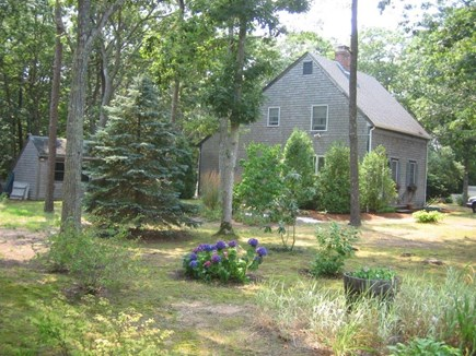 Eastham Cape Cod vacation rental - Left side view