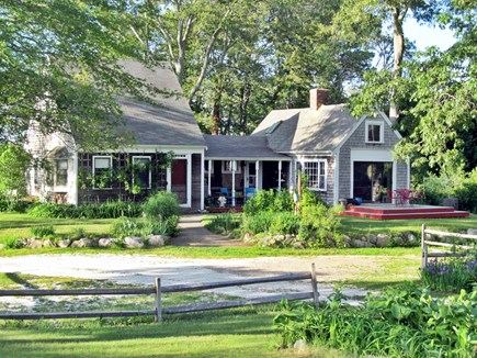 Orleans Cape Cod vacation rental - Front of house looking across yard