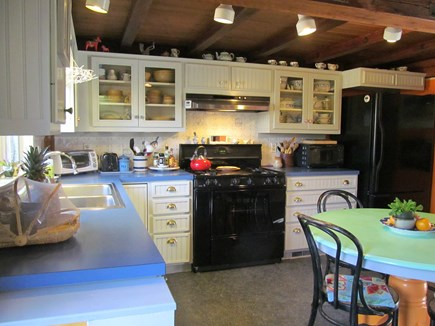Orleans Cape Cod vacation rental - Kitchen area with dining table