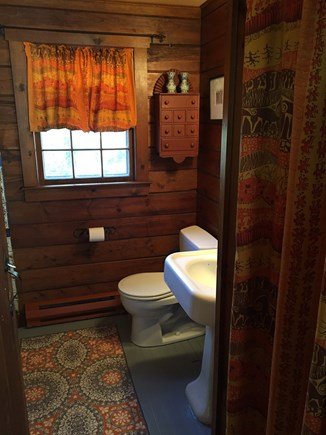 Orleans Cape Cod vacation rental - Downstairs bath with washer/dryer