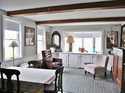Orleans Cape Cod vacation rental - Living area with dining