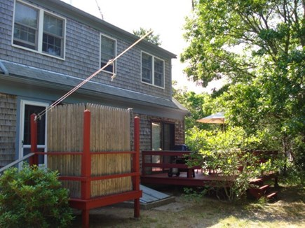 Eastham Cape Cod vacation rental - Deck and outdoor shower