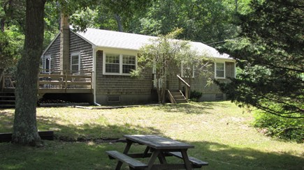 Truro Cape Cod vacation rental - Down a private driveway on a wooded acre, very serene setting