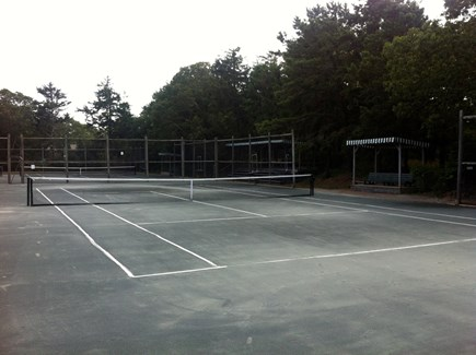 West Yarmouth Cape Cod vacation rental - 4 Tennis courts 1/4 mile from thehouse