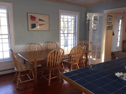 West Yarmouth Cape Cod vacation rental - Breakfast table in kitchen