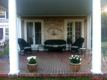 West Yarmouth Cape Cod vacation rental - Loggia with views to Nantucket Sound