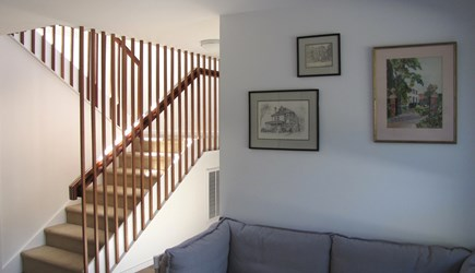 Wellfleet Cape Cod vacation rental - Stairs to main living level