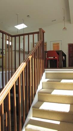 Wellfleet Cape Cod vacation rental - Stairway to main level