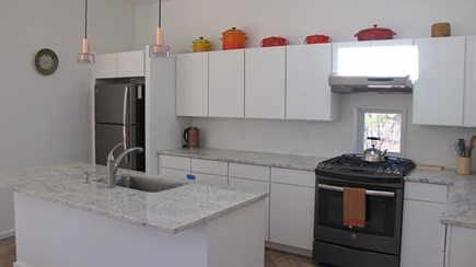 Wellfleet Cape Cod vacation rental - Kitchen with skylight above sink