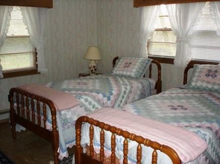 Eastham Cape Cod vacation rental - Bedroom with two twin beds