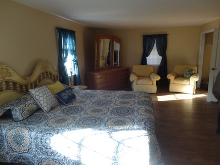South Yarmouth Cape Cod vacation rental - Large master bedroom with king bed and private bath