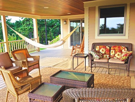 Wellfleet Cape Cod vacation rental - Hammock time on the covered porch!