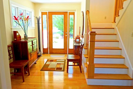 Wellfleet Cape Cod vacation rental - Front entry